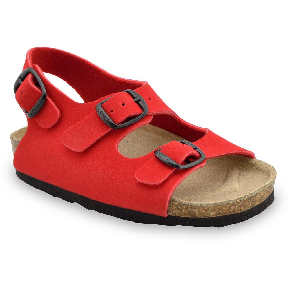 LAGUNA Kids sandals (23-29) - red, 25