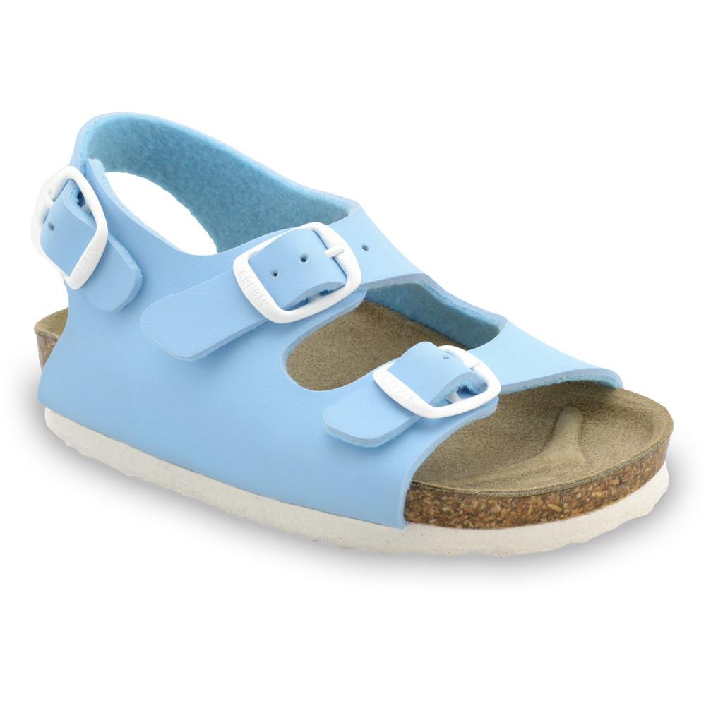 LAGUNA Kids sandals (23-29) - light blue, 29