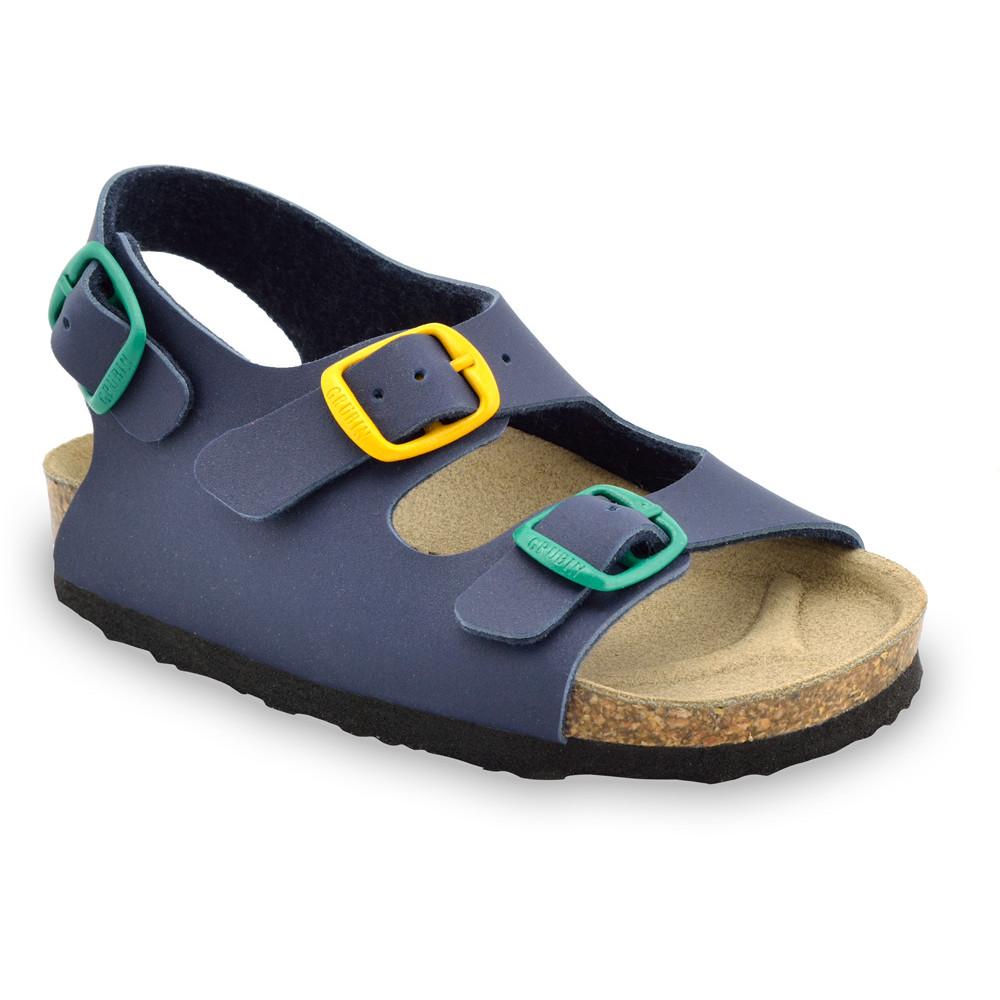 LAGUNA Kids sandals (23-29) - blue, 28