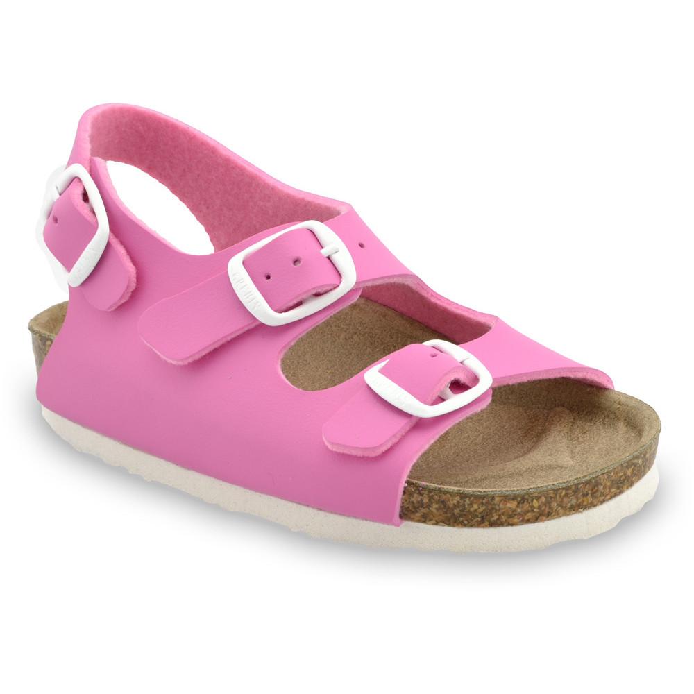 LAGUNA Kids sandals (23-29) - pink, 25