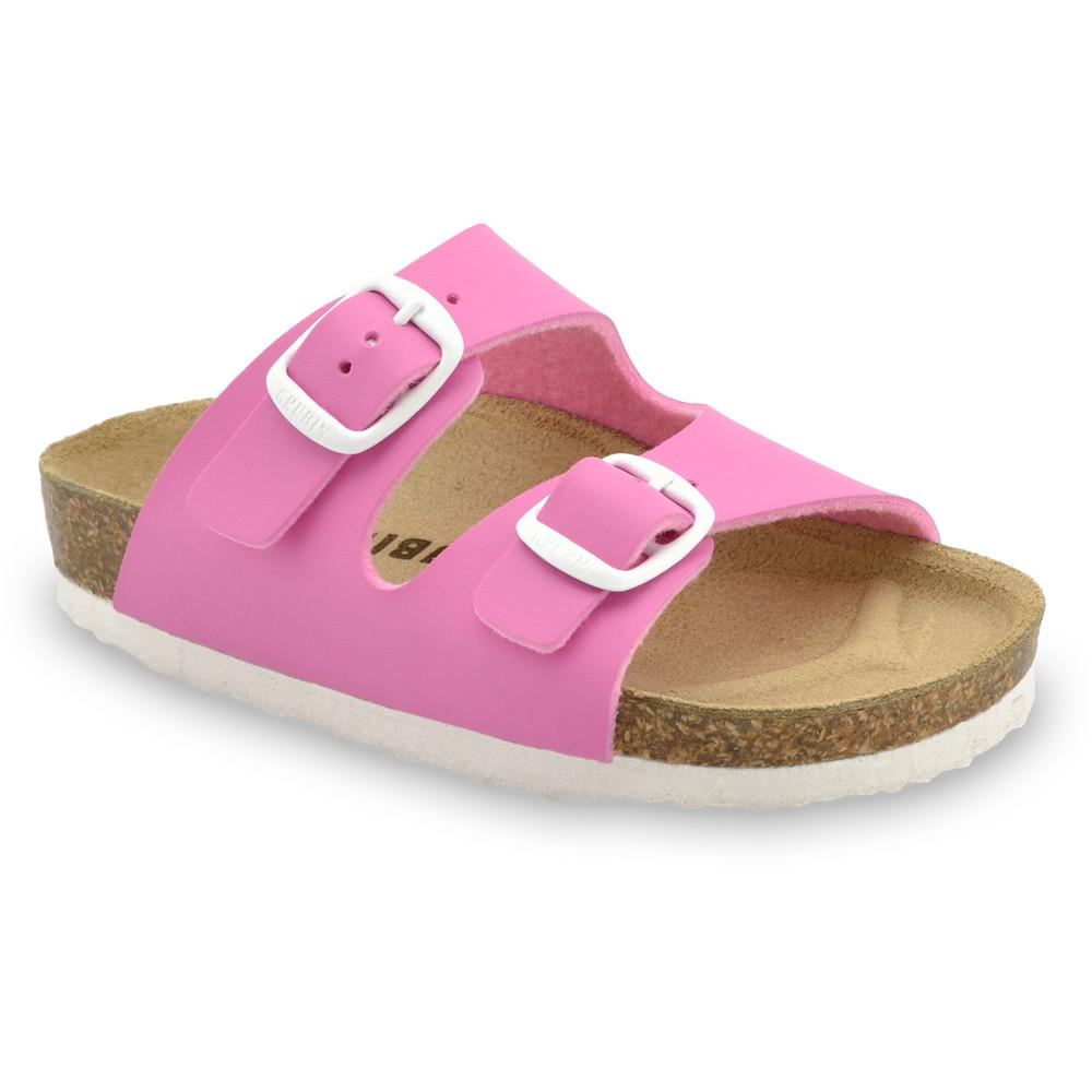 ARIZONA Kids slippers (30-35) - pink, 33