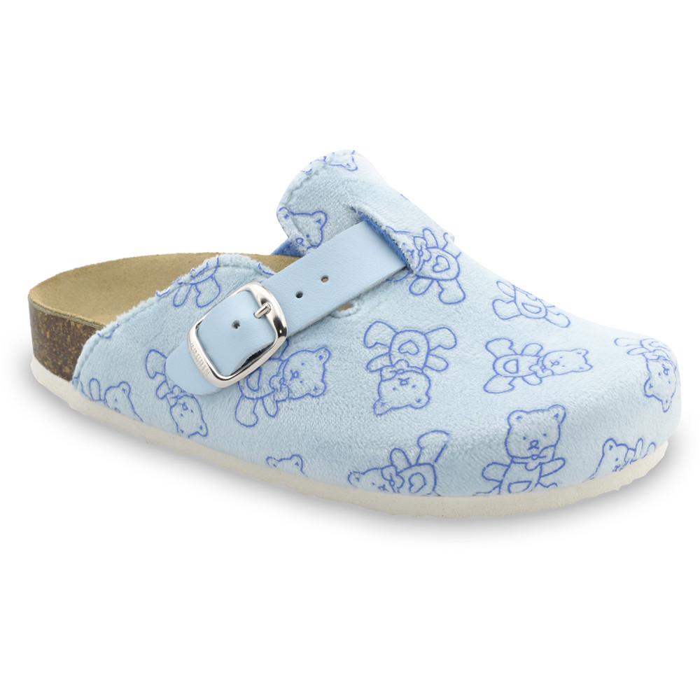 RIM Kids flip flops - plush (27-35) - light blue, 31