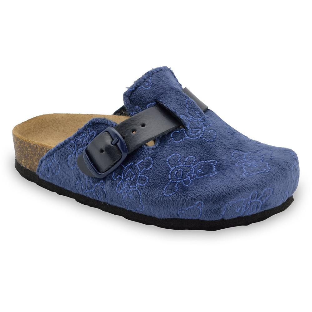 RIM Kids flip flops - plush (27-35) - blue, 28