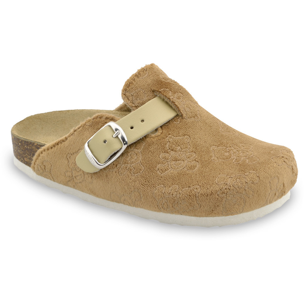 RIM Kids flip flops - plush (27-35) - brown, 29