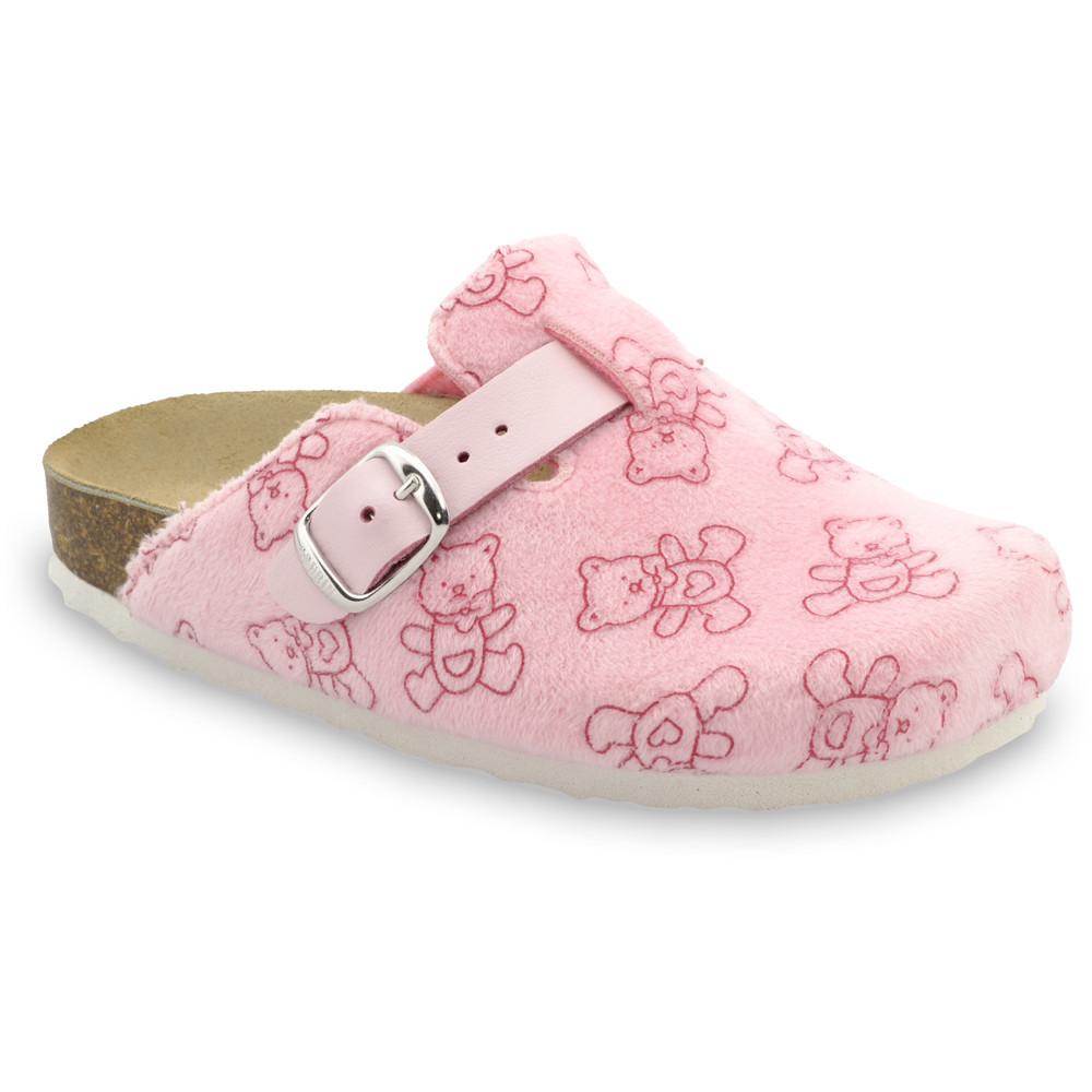 RIM Kids flip flops - plush (27-35) - pink, 29