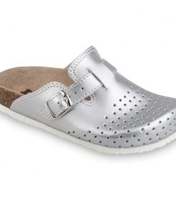 RIM Kids leather closed slippers (27-35)