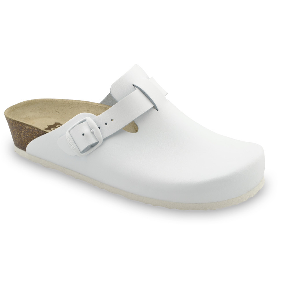 RIM Women's leather closed slippers (36-42)