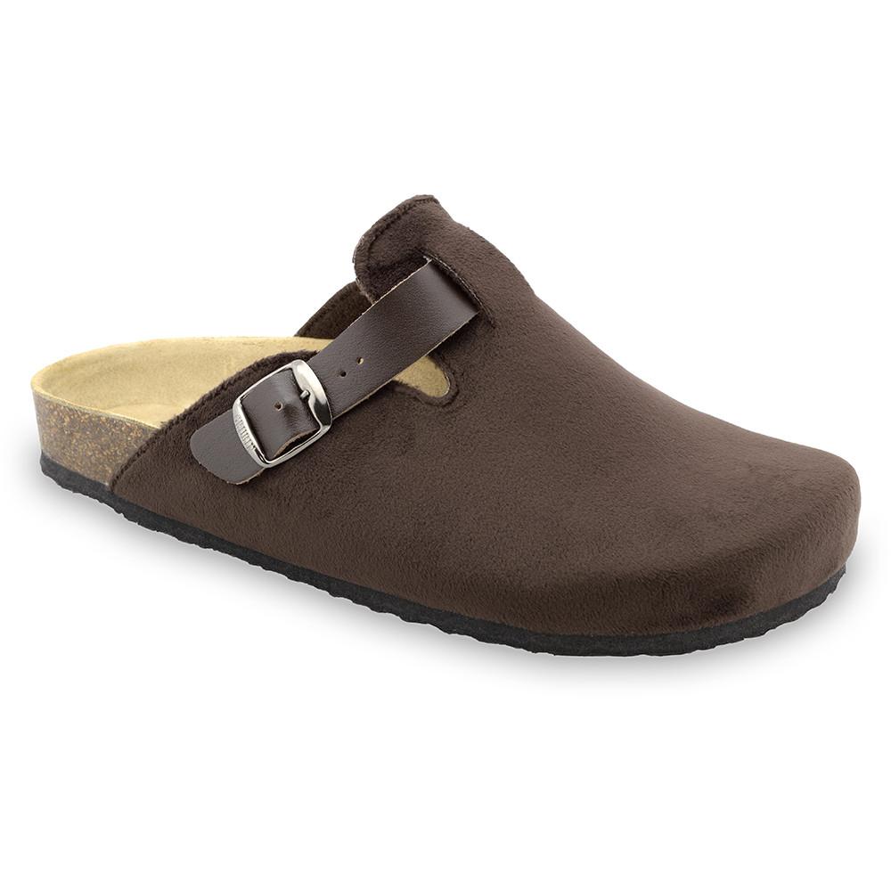 RIM Men's winter domestic footwear - plush (40-49) - brown, 46