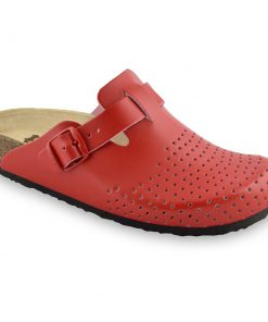 BEOGRAD Women's leather closed slippers (36-42)