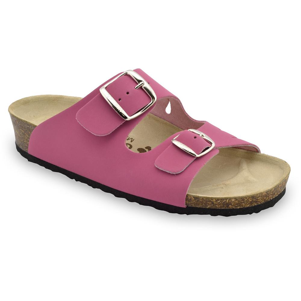 KAIRO Women's slippers - leather (36-42) - pink, 39