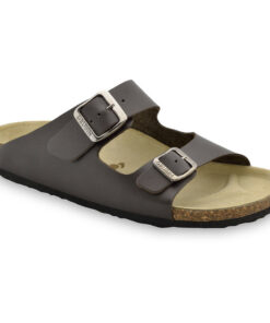 KAIRO Men's slippers - leather (40-49)