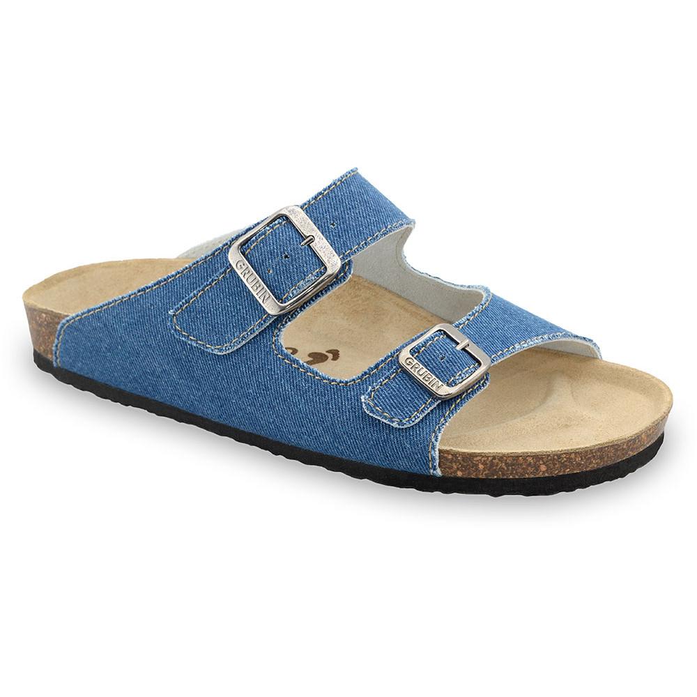 KAIRO Men's slippers - cloth (40-49) - blue, 45