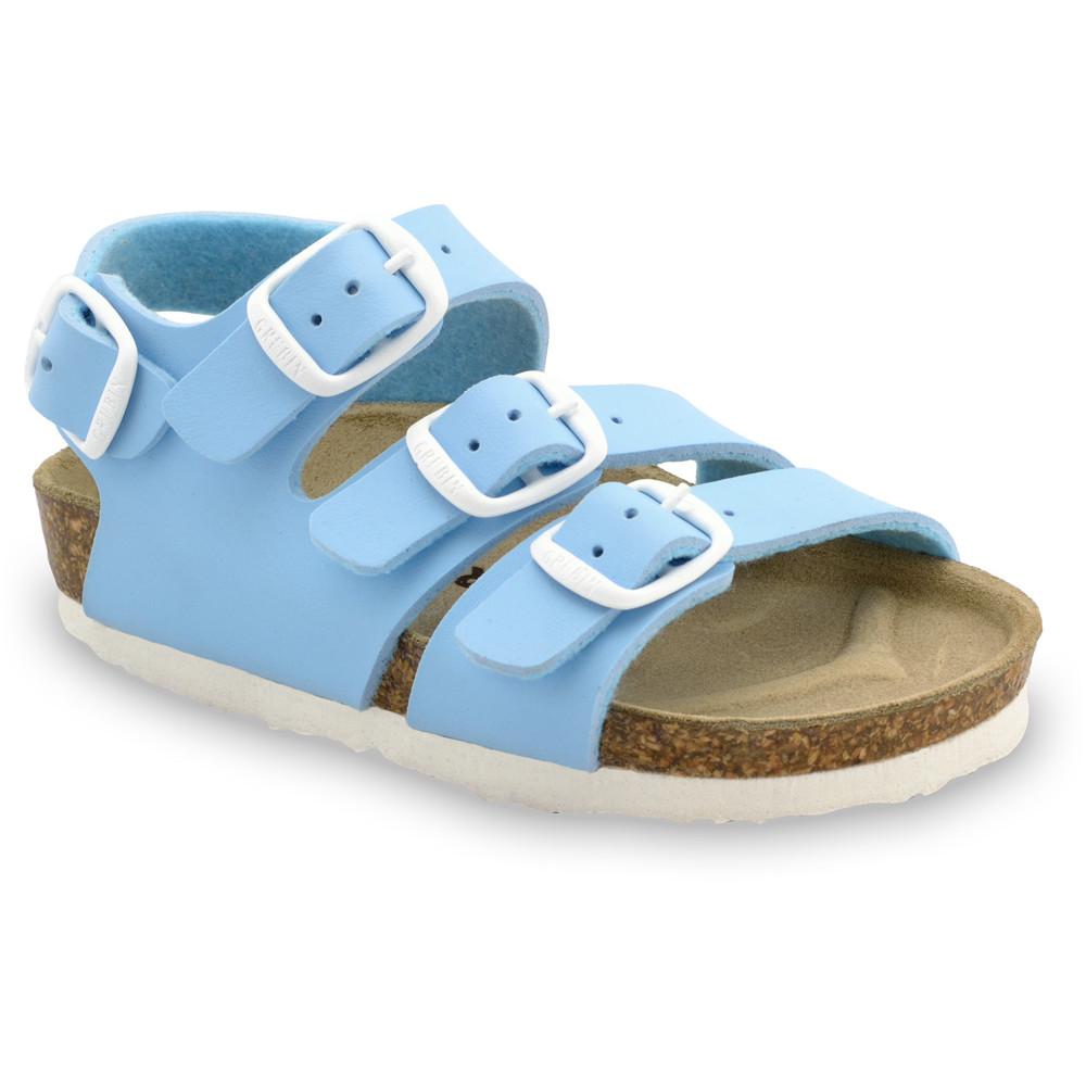 CAMBERA Kids sandals - leatherette (30-35) - light blue, 31
