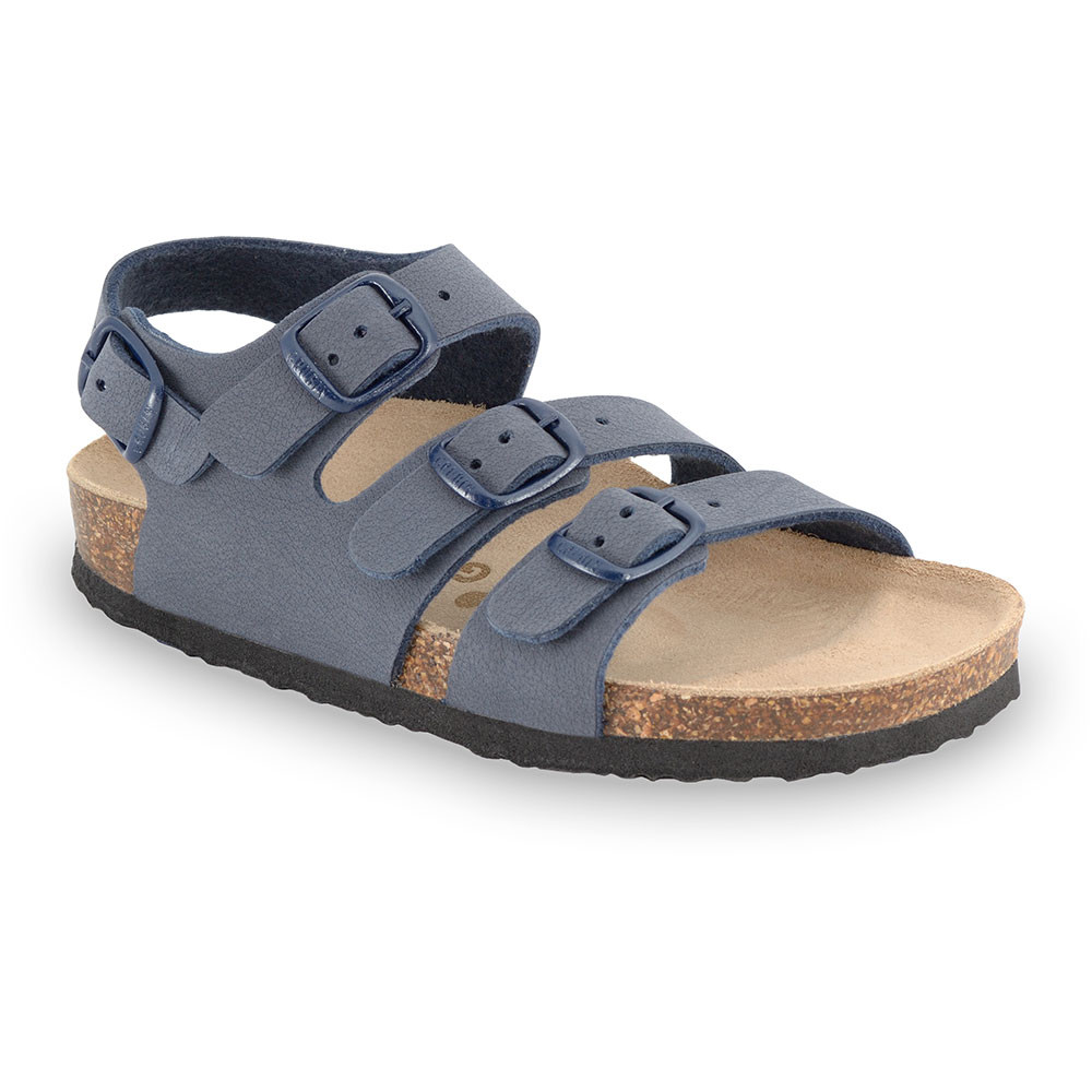 CAMBERA Kids sandals - leatherette (30-35) - dark grey, 35