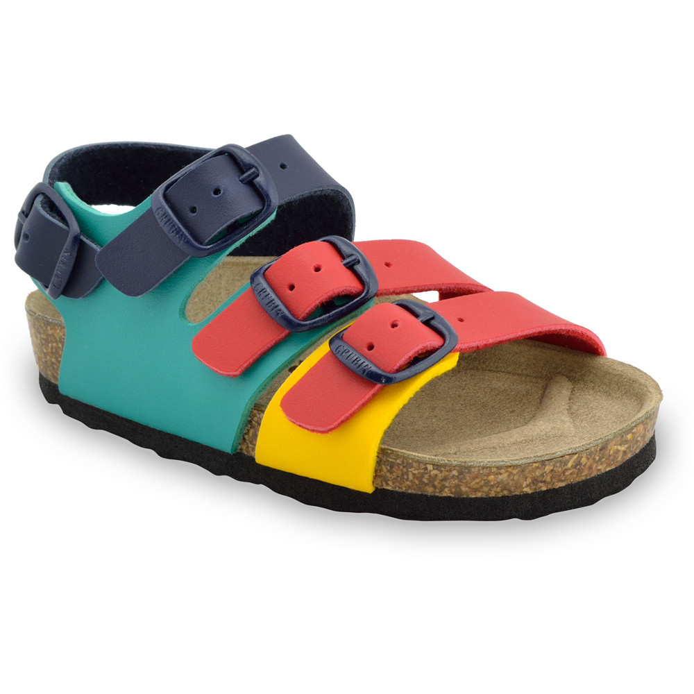 CAMBERA Kids sandals - leatherette (30-35) - colourful , 30