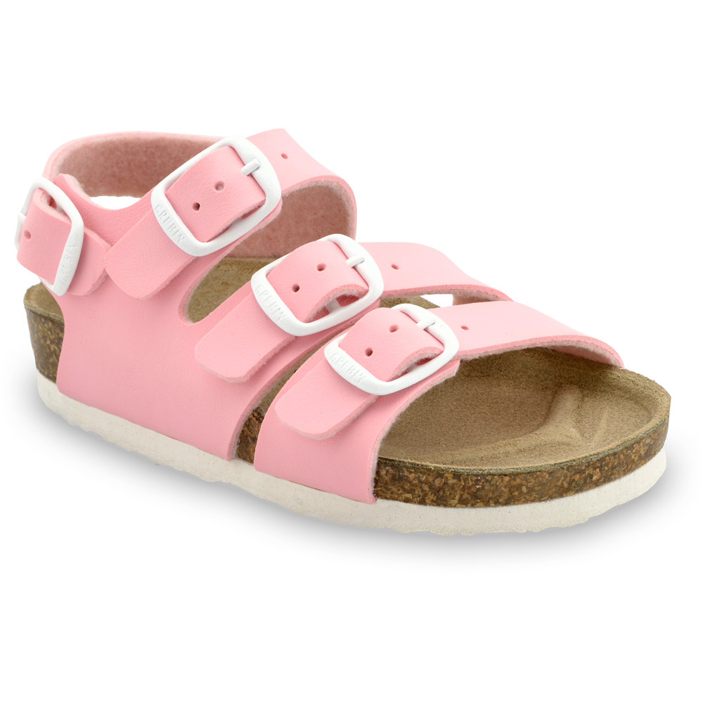 CAMBERA Kids sandals - leatherette (30-35) - light pink, 32