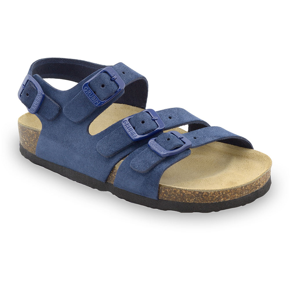 Camber Kids leather sandals (30-35) - blue, 32