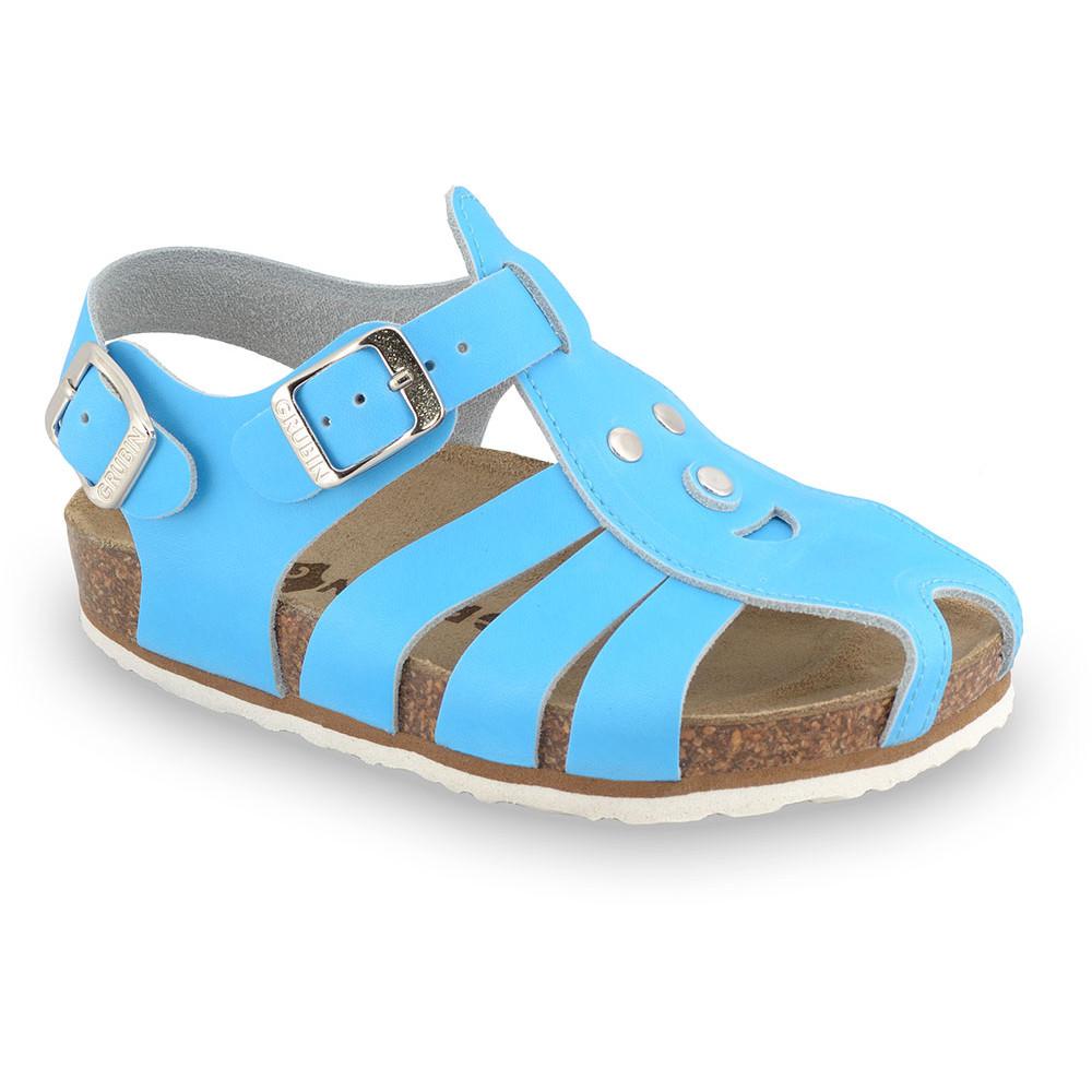 FUNK Kids sandals - leather (23-30) - blue, 27