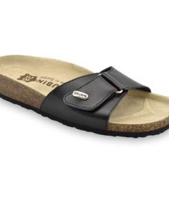 BRIGITTE Women's leather slippers (36-42)