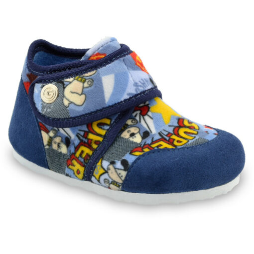 KINDER Kids winter domestic footwear - plush (23-35)