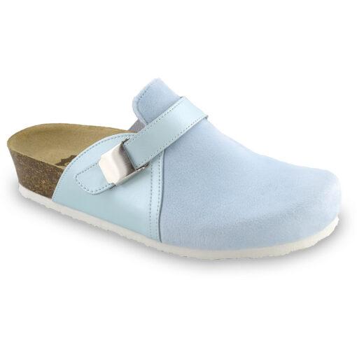 INDIO Women's closed slippers - plush (36-42)