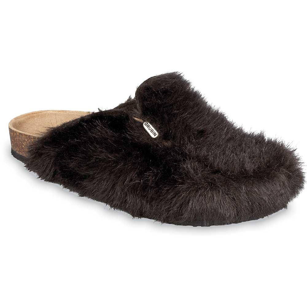 QUEBEC Men's winter domestic shoes (40-49) - brown, 49