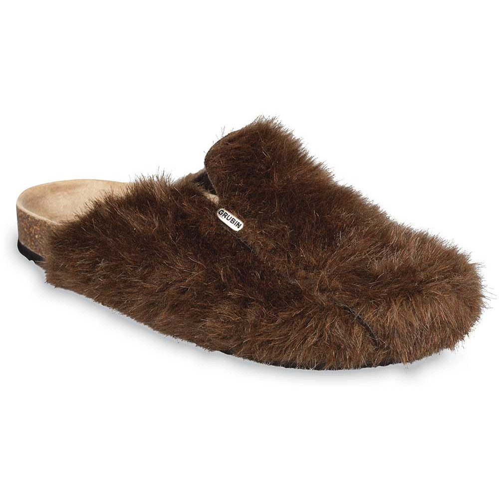QUEBEC Men's winter domestic shoes (40-49) - light brown, 47
