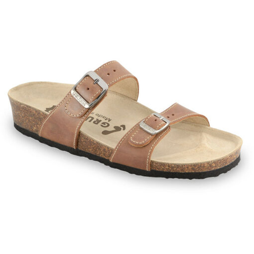 EDITH Women's slippers - leather (36-42)