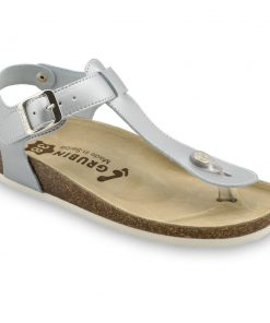 TOBAGO Women's sandals with thumb support - caste leather (36-42)
