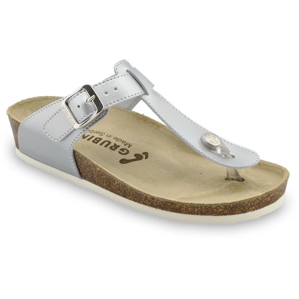 SAYONARA Women's leather flip flops (36-42)