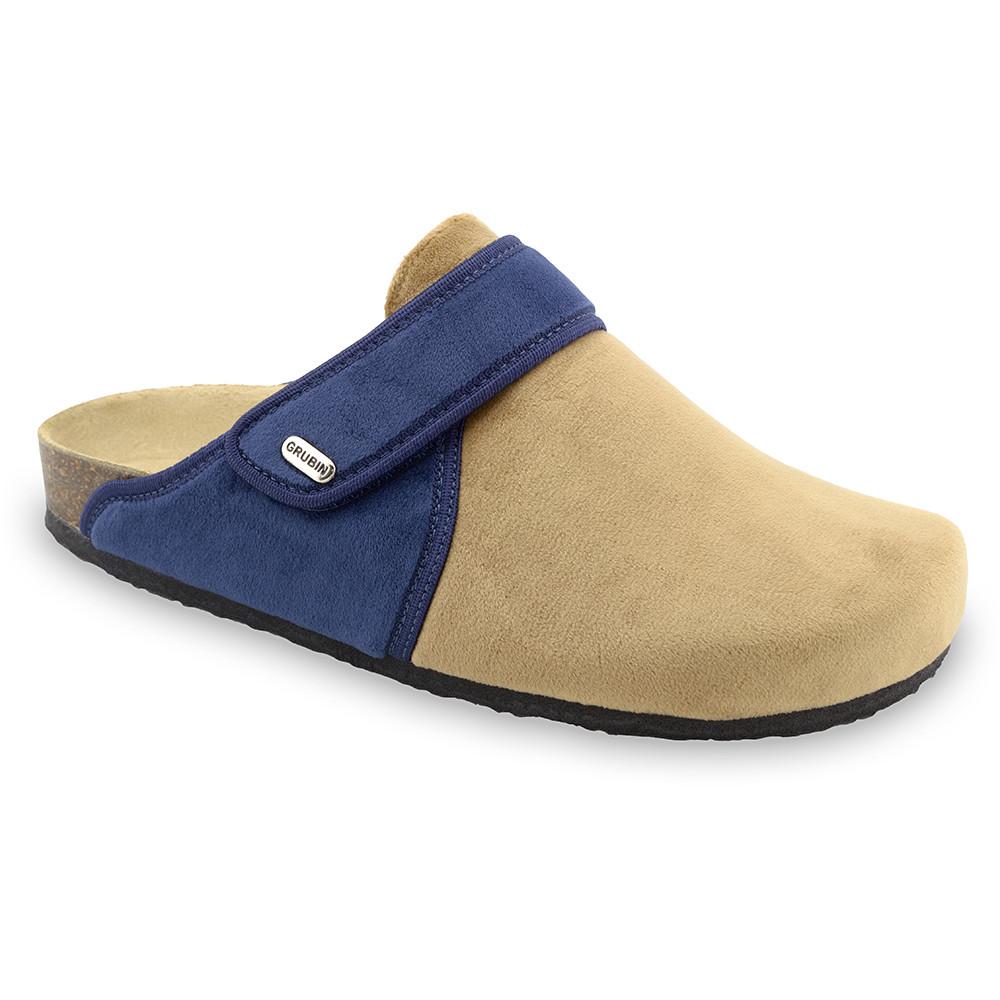 OREGON Men's winter domestic footwear - plush (40-49) - cream, 40