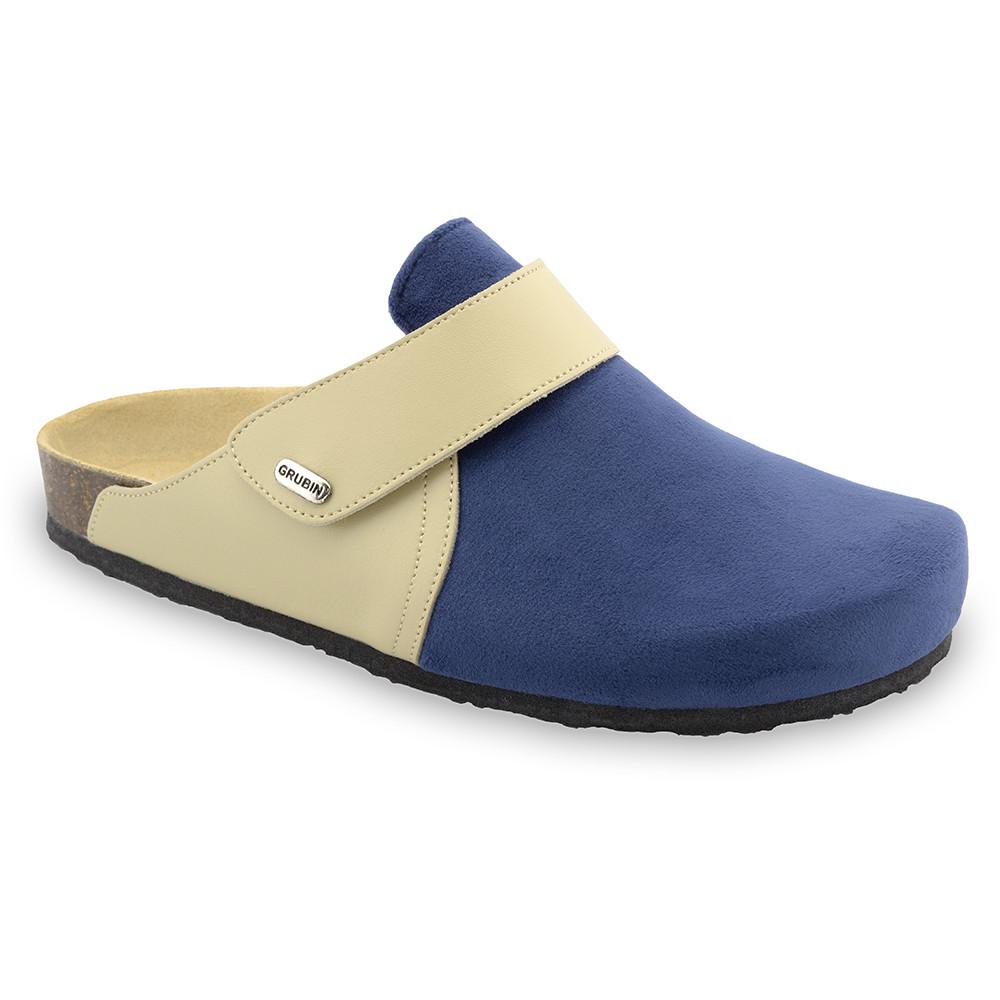 OREGON Men's winter domestic footwear - plush (40-49) - blue, 44
