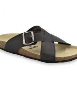 BORSALLINO Men's slippers - leather (40-49)