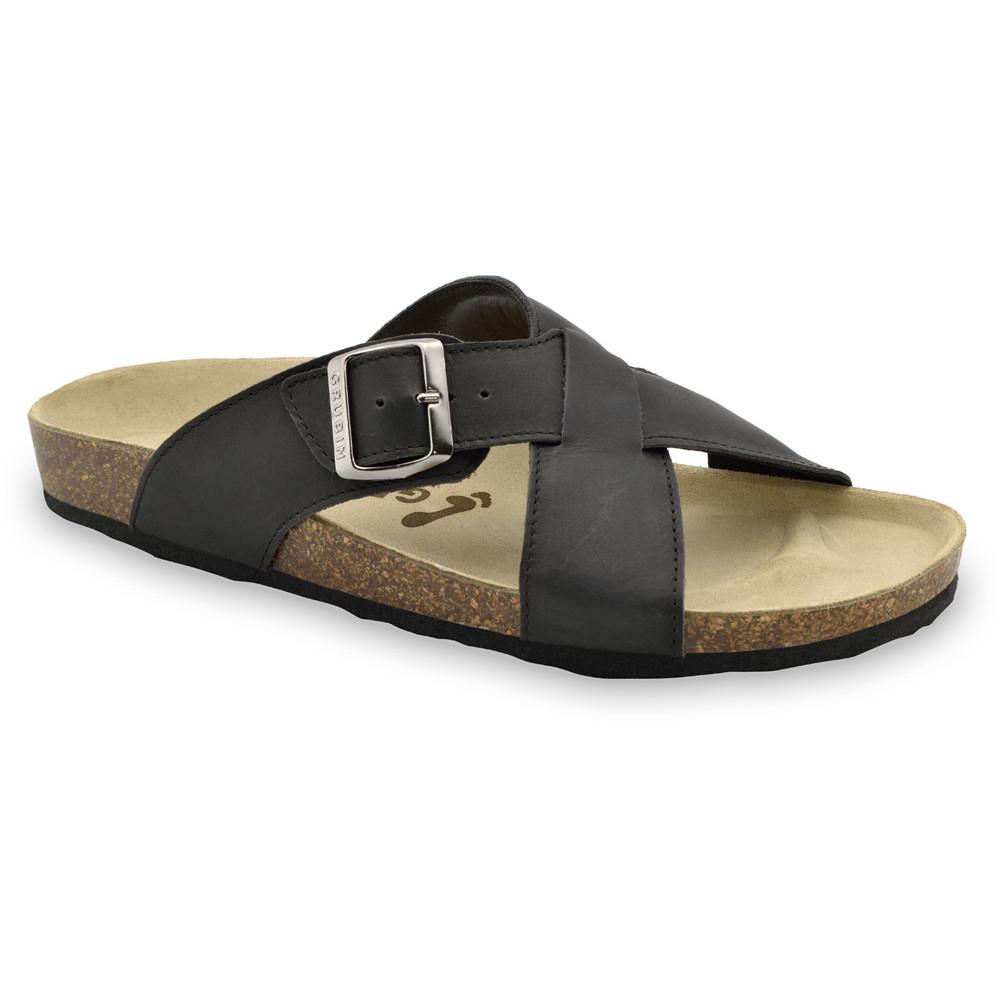 BORSALLINO Men's slippers - leather (40-49)