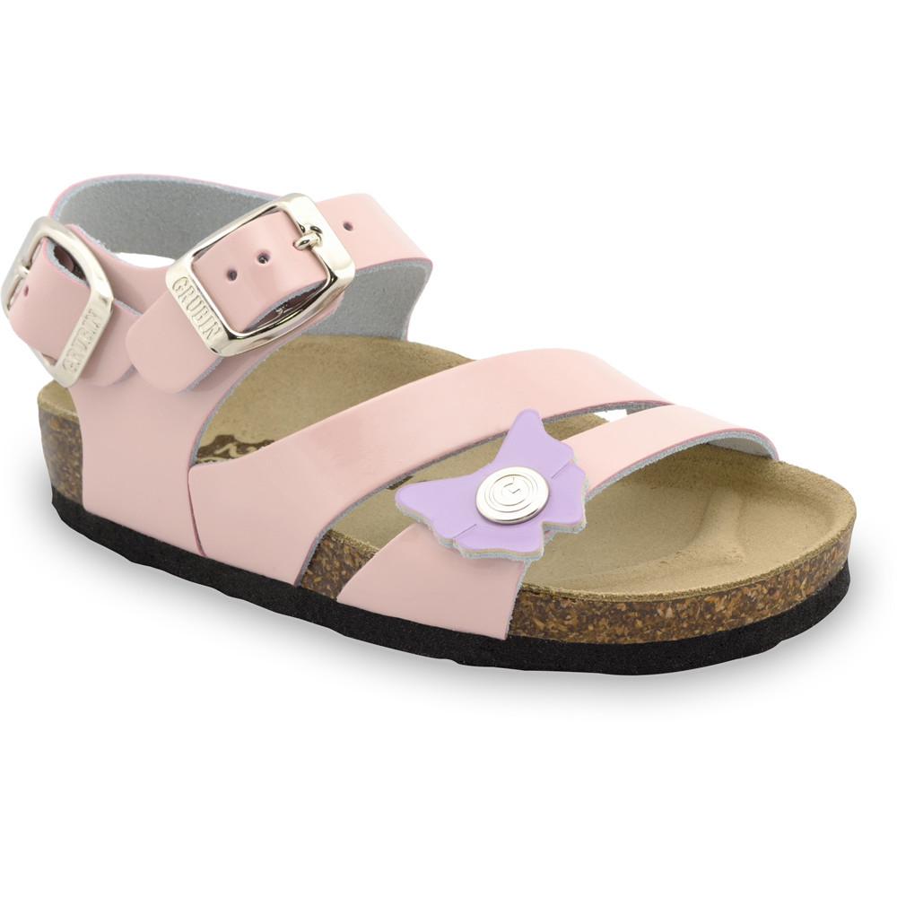 KATY Kids sandals - leather (30-35) - cream, 33