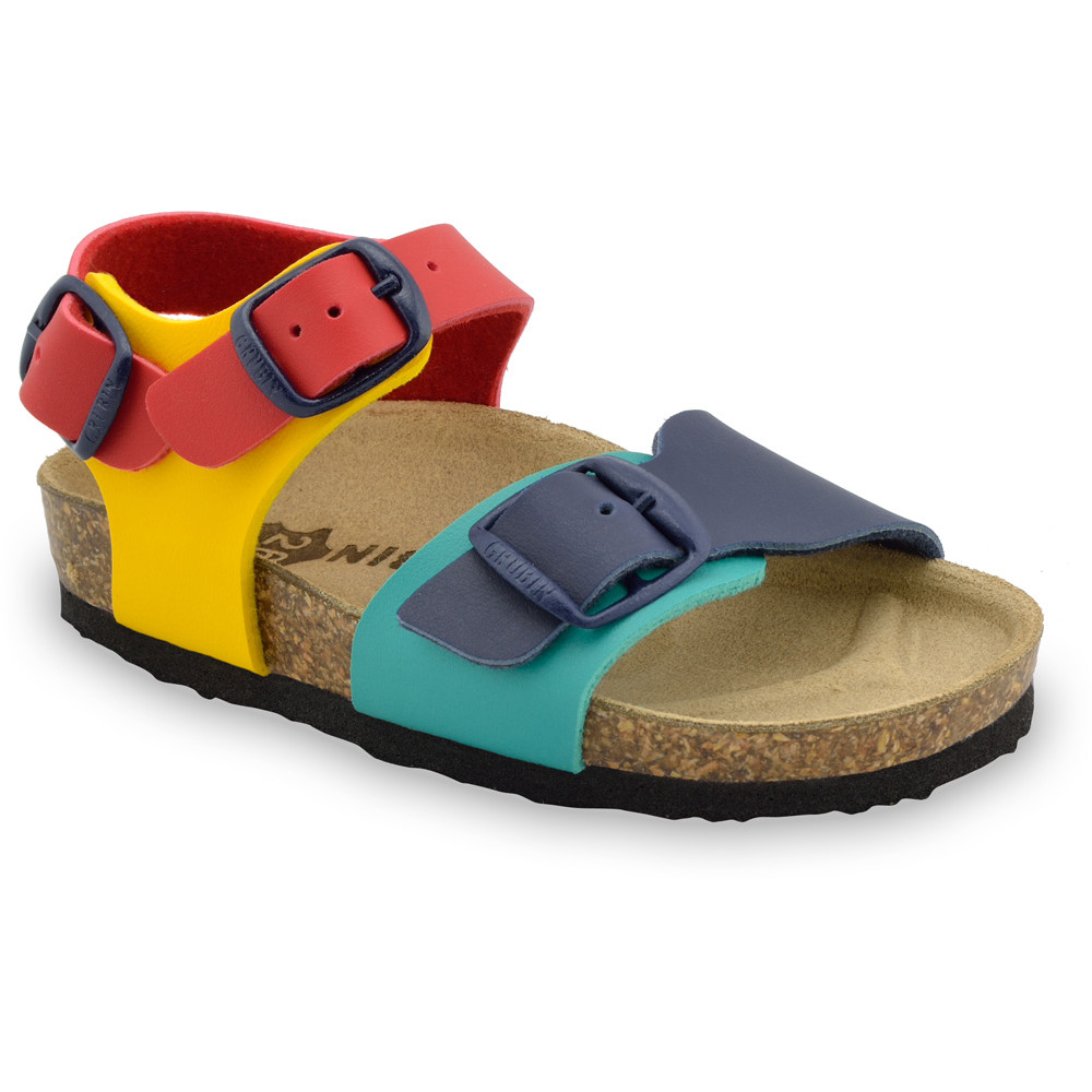 ROBY Kids sandals - leatherette (23-29) - colourful , 25