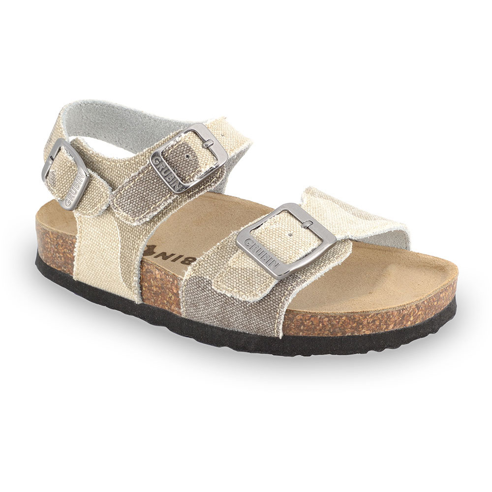 ROBY Kids sandals - cloth (30-35) - cream, 33