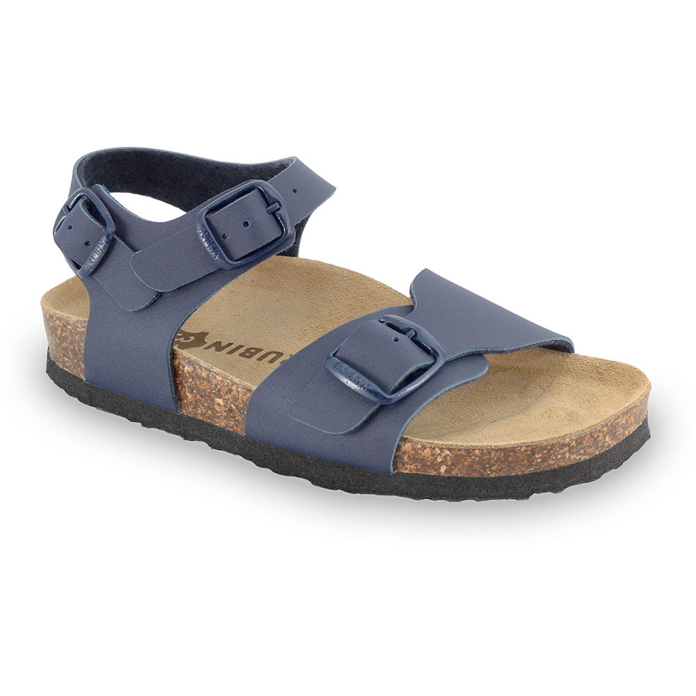 ROBY Kids sandals - leatherette (30-35) - blue, 30
