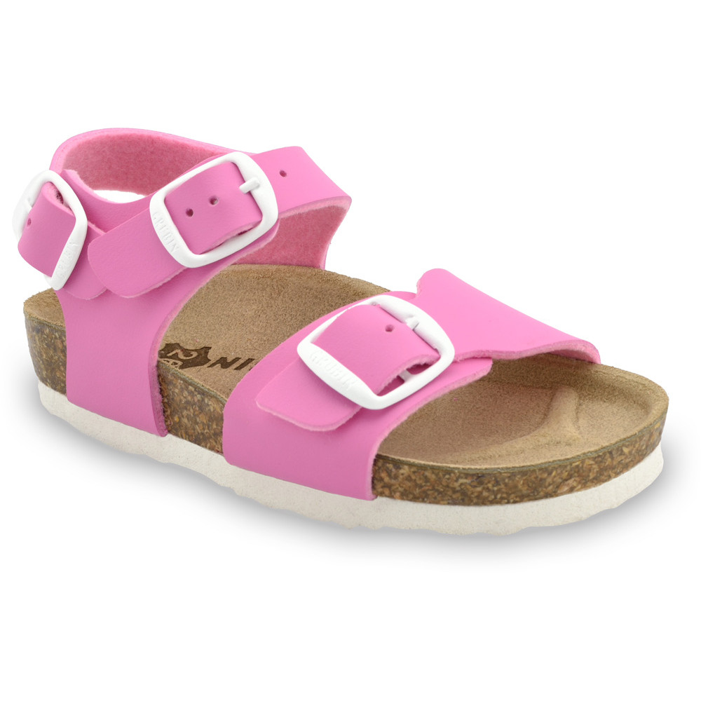 ROBY Kids sandals - leatherette (30-35) - pink, 34