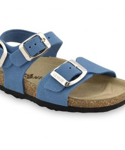 ROBY Kids - velor leather sandals (30-35)