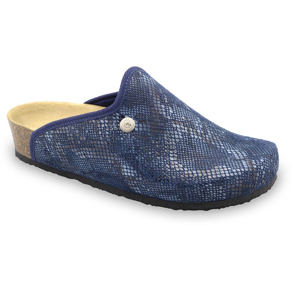 CAKI Women's winter domestic footwear - plush (36-42) - blue, 37