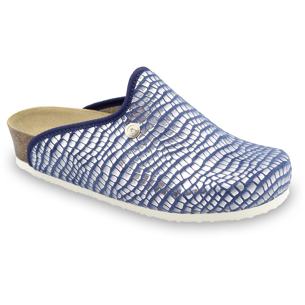 CAKI Women's winter domestic footwear - plush (36-42) - blue viper, 37