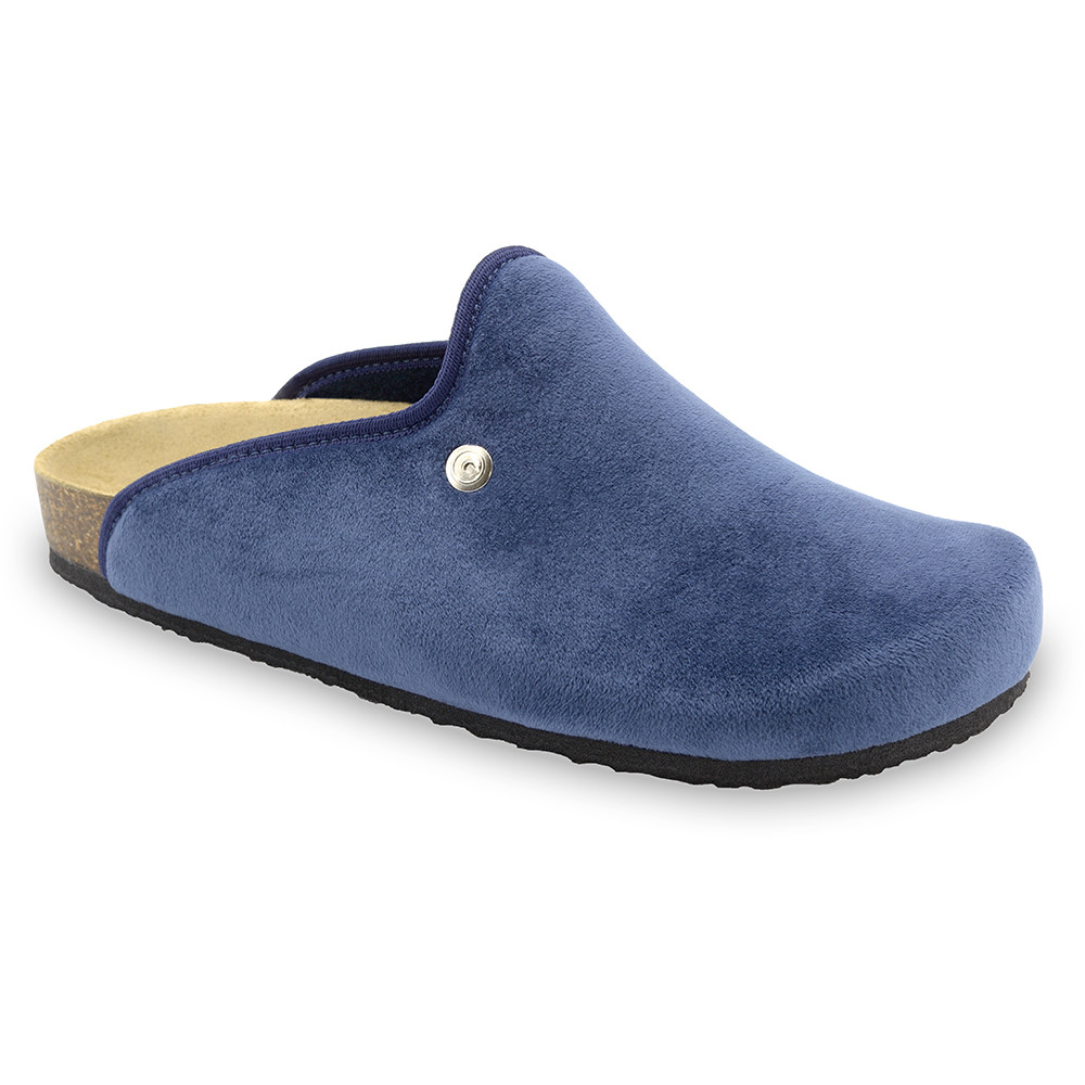 CAKI Men's winter domestic footwear - plush (40-49) - blue, 40