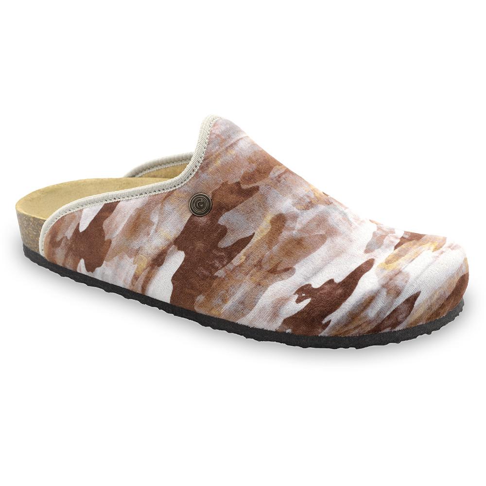 CAKI Men's winter domestic footwear - plush (40-49) - patterned, 47