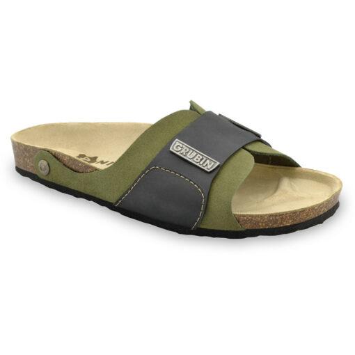 DARKO Men's slippers - leather (40-49)