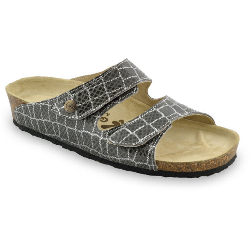 DARA Women's leather slippers (36-42)
