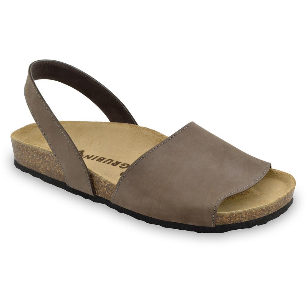 BOSS Men's sandals - nubuk leather (40-49) - brown, 40