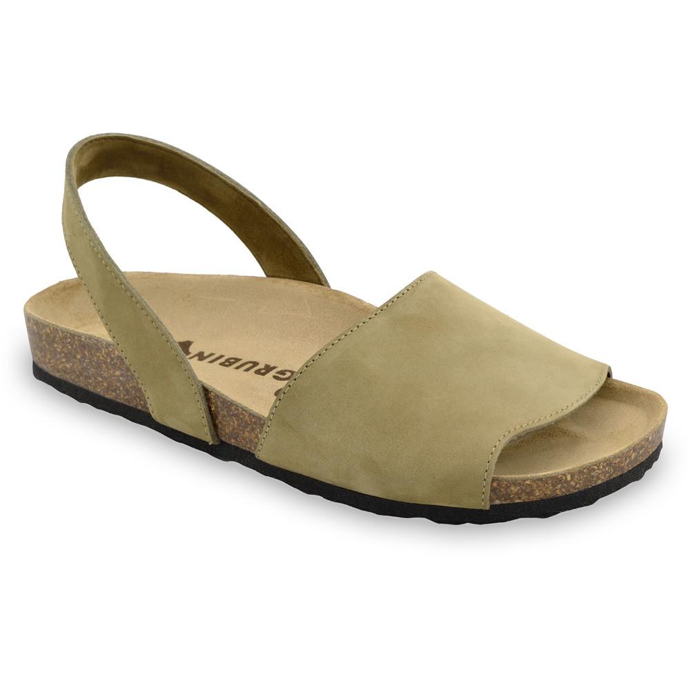 BOSS Men's sandals - nubuk leather (40-49) - cream, 44