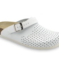 STOCKHOLM Women's leather closed slippers (36-42)
