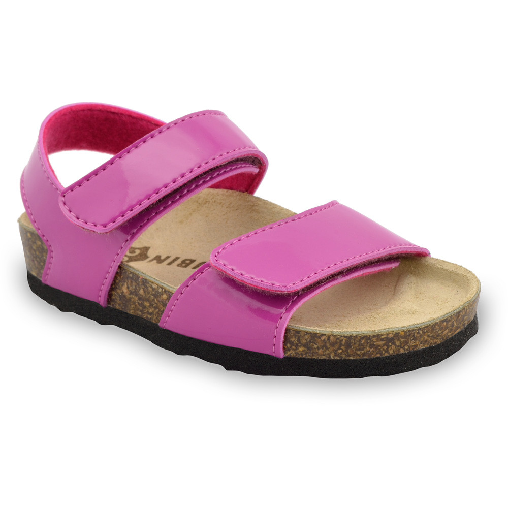 DIONIS Kids sandals - leatherette (23-29) - pink, 24
